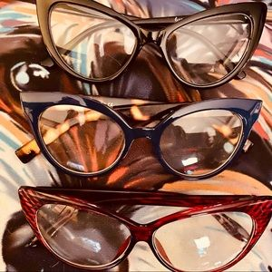 Accessories - New Cat Eye Frames